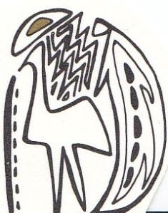 Sacred Emu Symbol